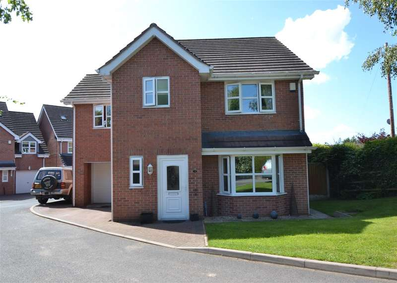 4 Bedrooms Detached House for sale in Glebe Meadow, Woodseaves, Stafford