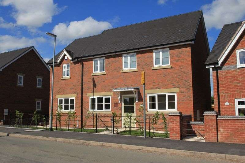 4 Bedrooms Detached House for sale in Green Farm Meadows Seighford, ST18 * OPEN DAY VIEWING SATURDAY 8th APRIL 2017 10am - 2pm *