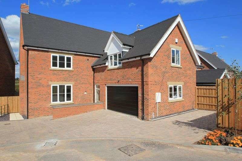 5 Bedrooms Detached House for sale in Green Farm Meadows,Seighford, ST18