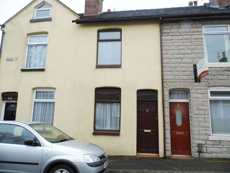 2 Bedrooms Terraced House for sale in Russell Street, Wolstanton, Newcastle
