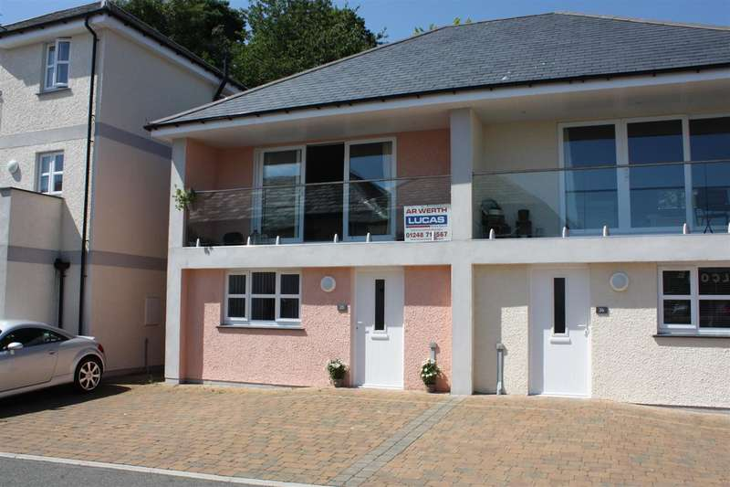 2 Bedrooms Semi Detached House for sale in Menai Quays, Water Street, Menai Bridge