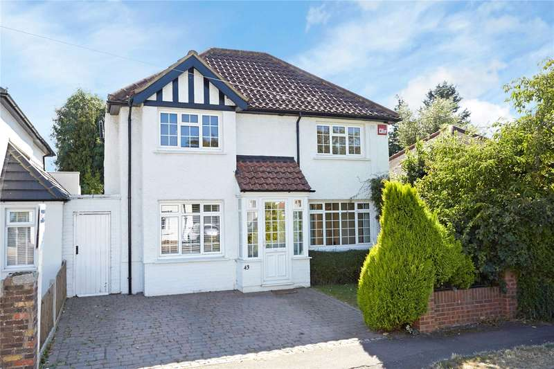 4 Bedrooms Detached House for sale in Manor Green Road, Epsom, Surrey, KT19