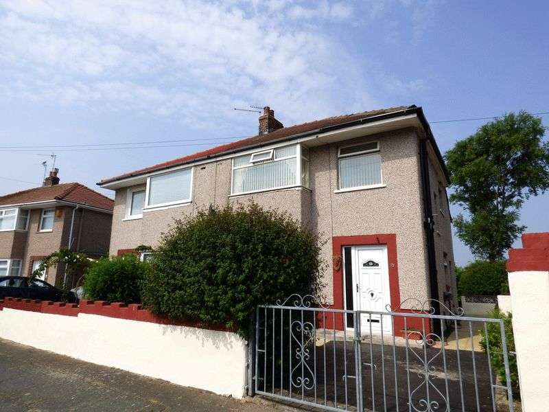 3 Bedrooms Semi Detached House for sale in Hestham Avenue, Morecambe