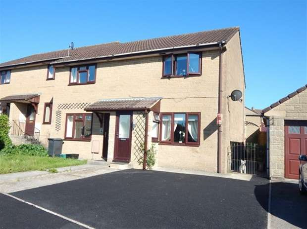 2 Bedrooms Terraced House for sale in Churchfield Drive, Castle Cary