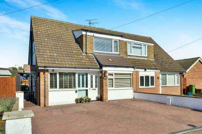 4 Bedrooms Semi Detached House for sale in Cromwell Avenue, Newport Pagnell, Milton Keynes, Bucks