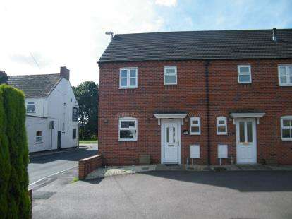 2 Bedrooms End Of Terrace House for sale in DeVille Mews, Chapel Street, Brownhills, Walsall