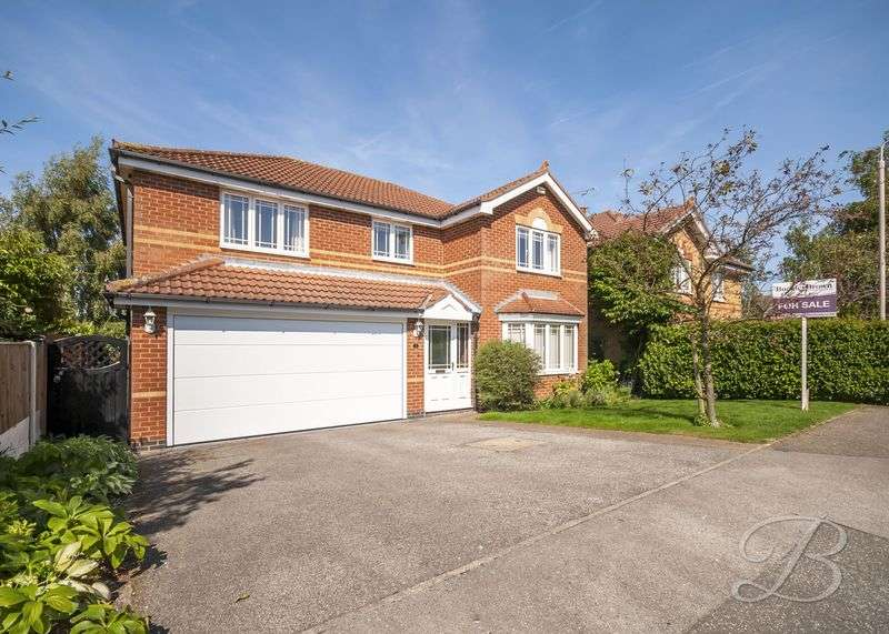 4 Bedrooms Detached House for sale in Wharfedale Gardens, Mansfield