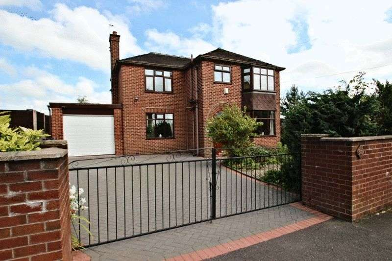 3 Bedrooms Detached House for sale in Sands Road, Harriseahead