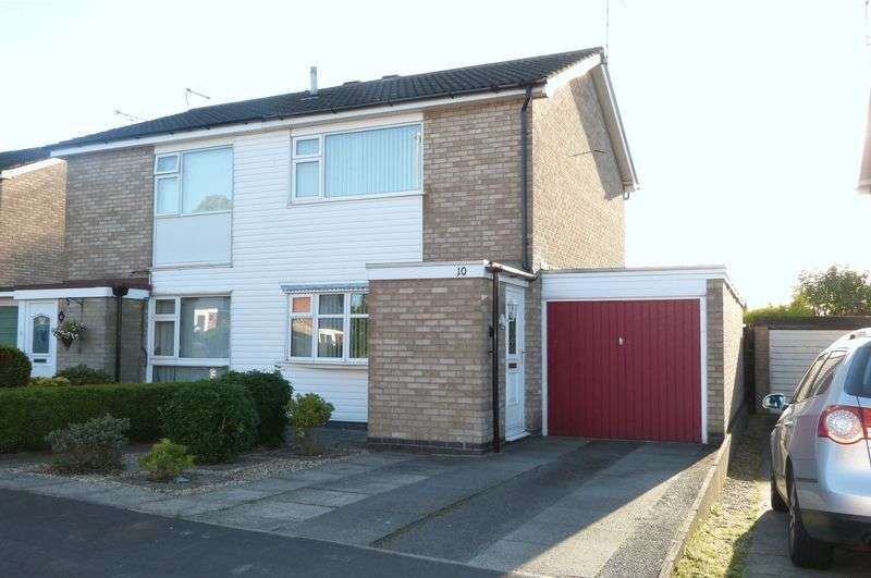 2 Bedrooms Semi Detached House for sale in Naseby Close, Wigston