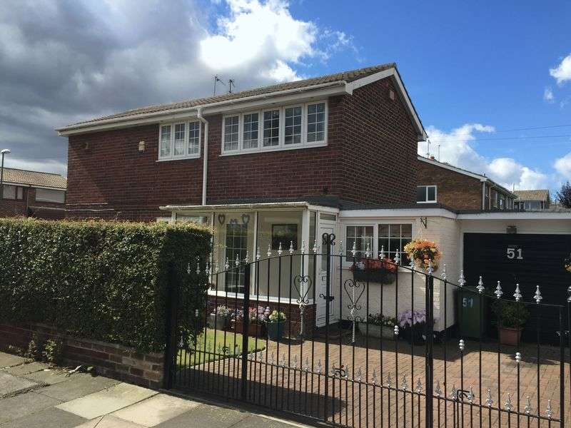3 Bedrooms Semi Detached House for sale in Breamish Street, Jarrow