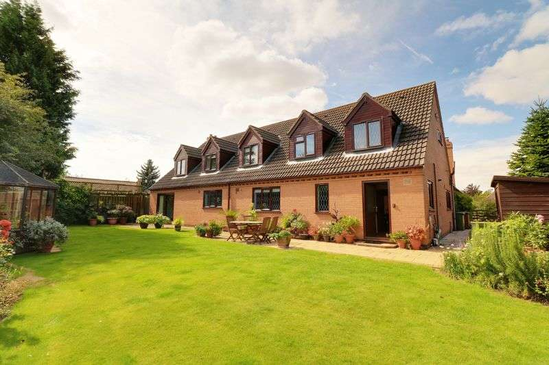 5 Bedrooms Detached House for sale in Castle Keep, Hibaldstow