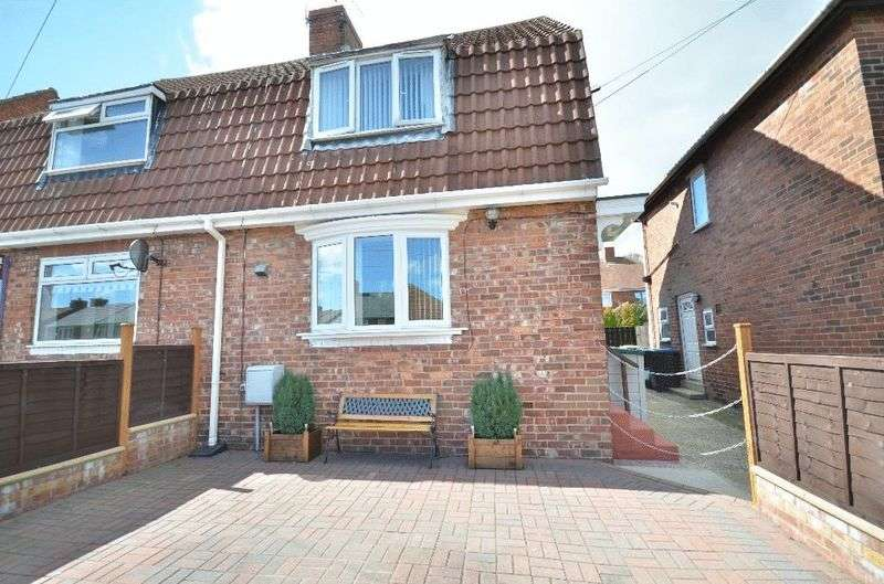 2 Bedrooms Semi Detached House for sale in Toft Crescent, Murton, Seaham