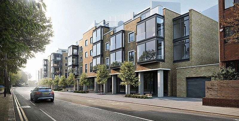 2 Bedrooms Flat for sale in London Square, London Road, Isleworth