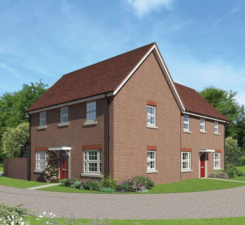 3 Bedrooms Semi Detached House for sale in Plot 79, Finstock V2, Downsview Park, Wantage