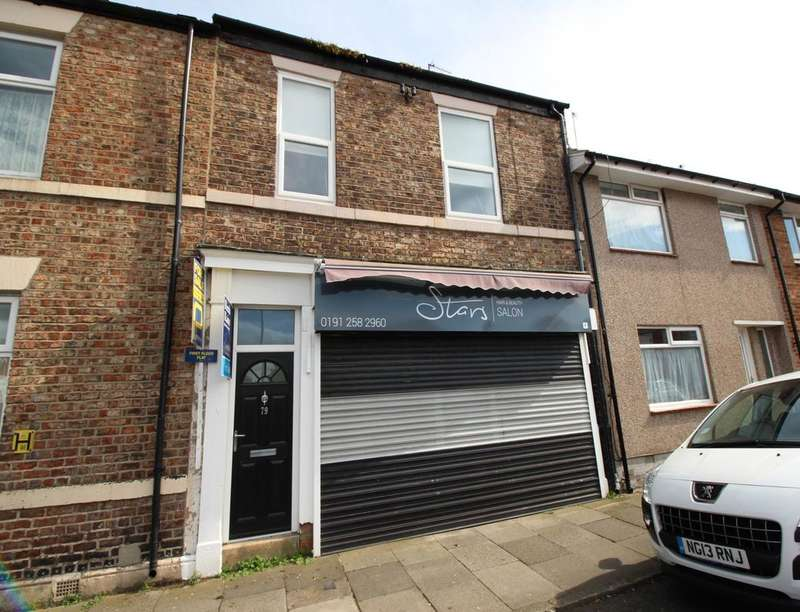 2 Bedrooms Flat for sale in West Percy Street, North Shields, NE29