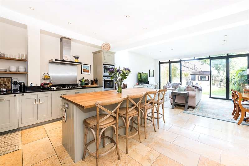 4 Bedrooms Terraced House for sale in Christchurch Road, East Sheen, SW14