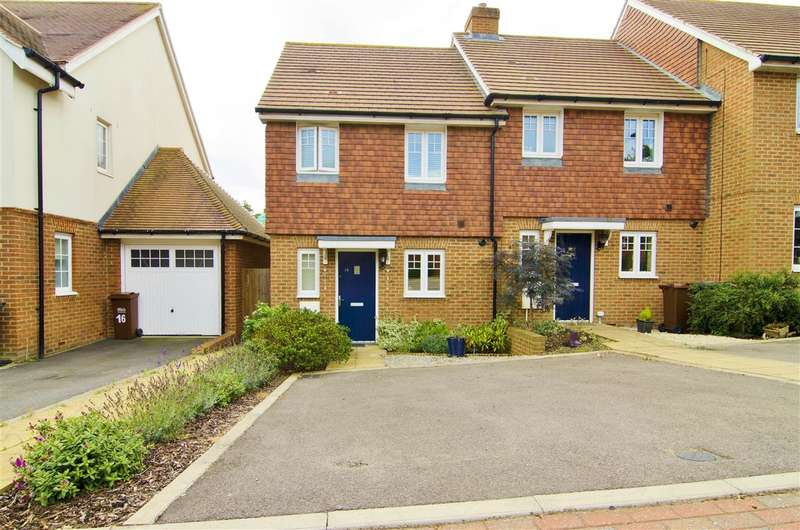 2 Bedrooms End Of Terrace House for sale in Malthouse Way, Hellingly