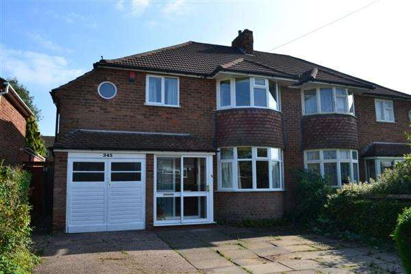 4 Bedrooms Semi Detached House for sale in Rednal Road, Kings Norton, Birmingham