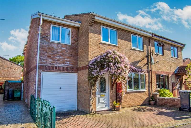 4 Bedrooms Semi Detached House for sale in Oakmeadow Drive, St. Mellons, Cardiff