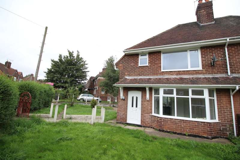 3 Bedrooms Semi Detached House for sale in Norman Drive, Hucknall, Nottingham, NG15