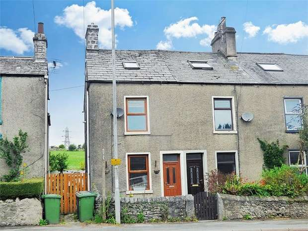 3 Bedrooms End Of Terrace House for sale in Bank Terrace, Lindal, Ulverston, Cumbria