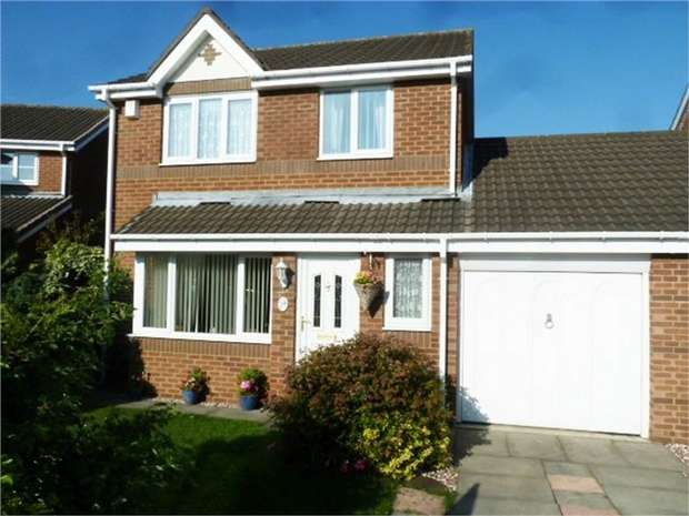 3 Bedrooms Link Detached House for sale in Baulkham Hills, Houghton le Spring, Tyne and Wear