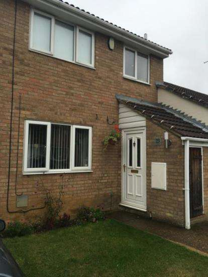 3 Bedrooms Terraced House for sale in Manorfield Close, Northampton, Northamptonshire