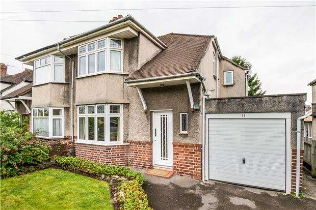 3 Bedrooms Semi Detached House for sale in Reedley Road, Bristol, BS9 3ST
