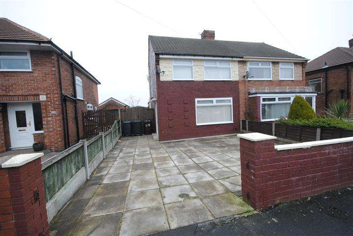 3 Bedrooms Semi Detached House for sale in Beechwood Avenue, Halewood, Liverpool, L26