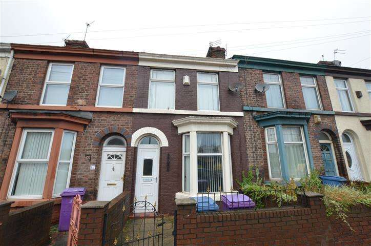 2 Bedrooms Terraced House for sale in Brewster Street, Liverpool, Merseyside, L4