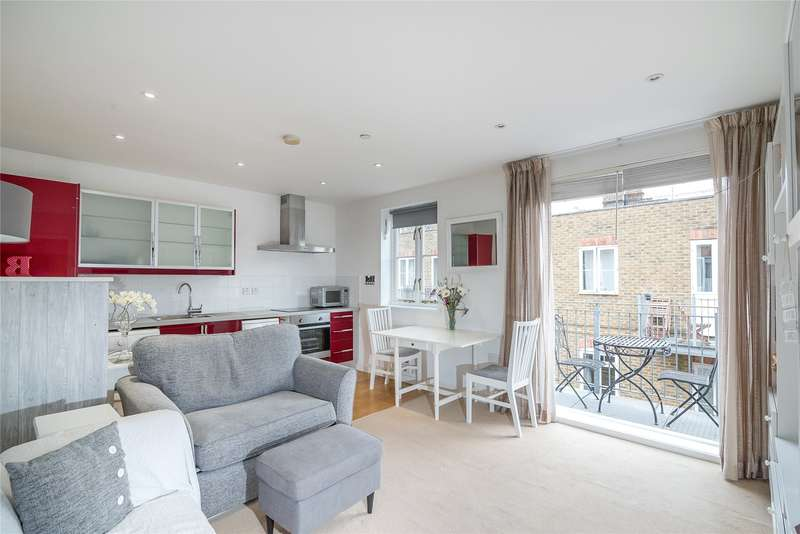 1 Bedroom Flat for sale in Hildreth Street Mews, London, SW12