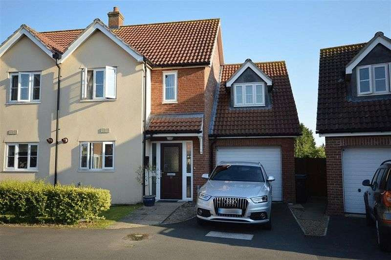3 Bedrooms Semi Detached House for sale in Merchants Court Watton