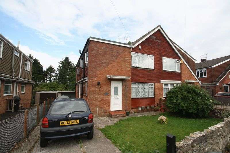 4 Bedrooms Semi Detached House for sale in Warman Close, Stockwood, Bristol, BS14