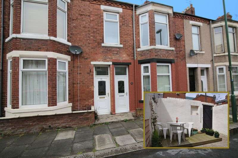 2 Bedrooms Flat for sale in Coleridge Avenue, South Shields