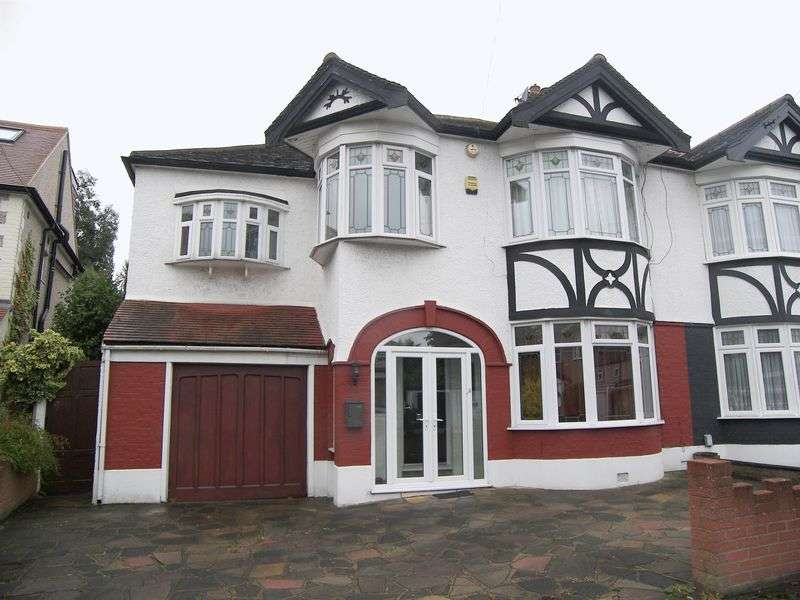 4 Bedrooms Semi Detached House for sale in ROSEDENE GARDENS, GANTS HILL IG2