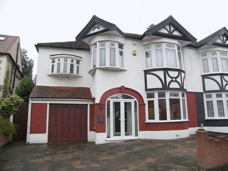 4 Bedrooms Semi Detached House for sale in ROSEDENE GARDENS, GANTS HILL IG2