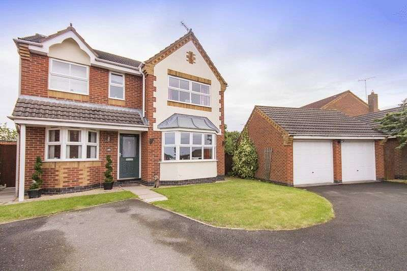 4 Bedrooms Detached House for sale in WELLAND ROAD, HILTON