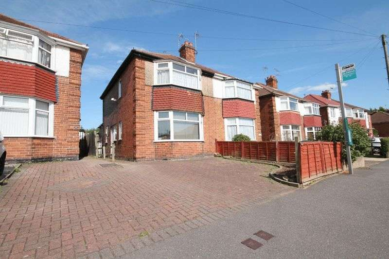 2 Bedrooms Semi Detached House for sale in ST ALBANS ROAD, DERBY