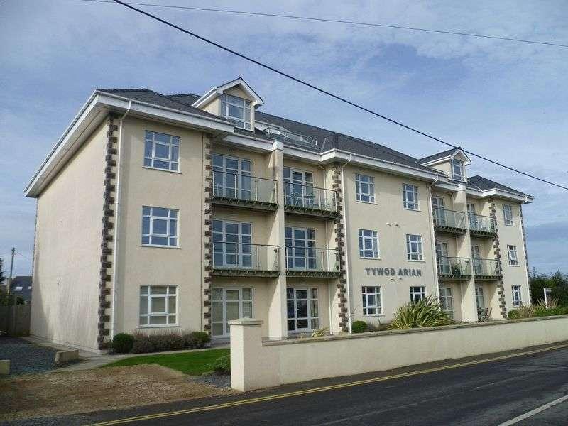 2 Bedrooms Flat for sale in Lon Las, Pwllheli