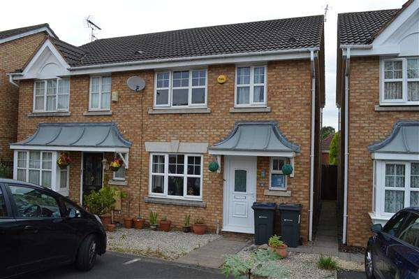 3 Bedrooms Semi Detached House for sale in Oakmeadow Close, South Yardley, Birmingham