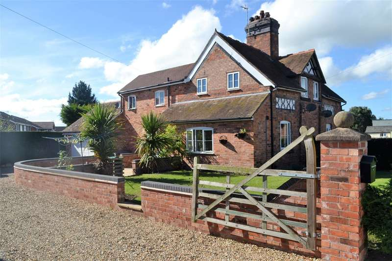 3 Bedrooms Semi Detached House for sale in Wellcroft Cottage, Chester Road, No Mans Heath