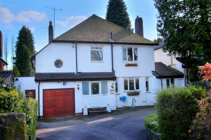 4 Bedrooms Detached House for sale in 437 Whirlowdale Road, Whirlow, S11 9NG