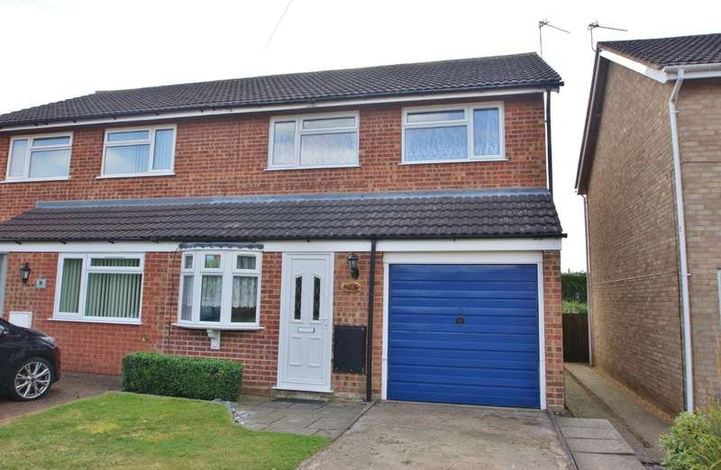 3 Bedrooms Semi Detached House for sale in Rosa Close, Spixworth