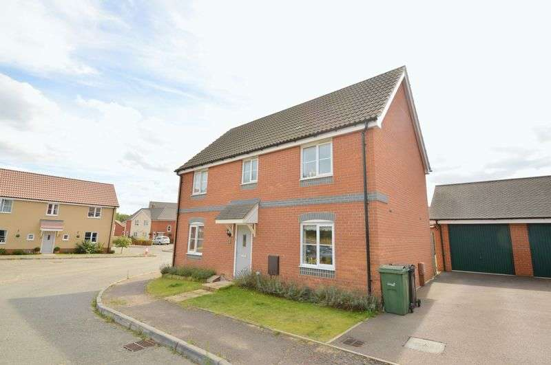 4 Bedrooms Detached House for sale in Redpoll Road, Costessey
