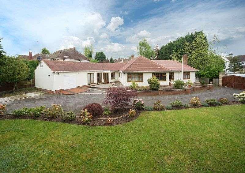 4 Bedrooms Detached Bungalow for sale in Woodthorne Road,Tettenhall