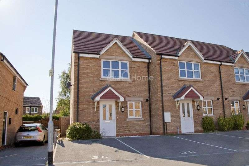 2 Bedrooms Semi Detached House for sale in Bishops Gate, Lincoln