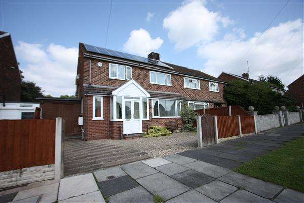 4 Bedrooms Semi Detached House for sale in Garrick Road, Prenton