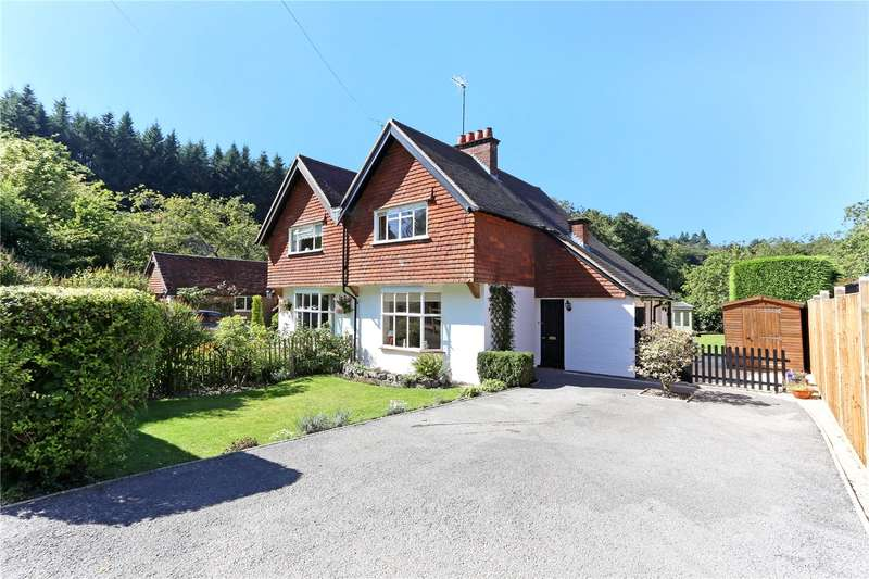 3 Bedrooms Semi Detached House for sale in Chilcrofts Cottages, Chilcrofts Road,, Kingsley Green, Haslemere, Surrey, GU27