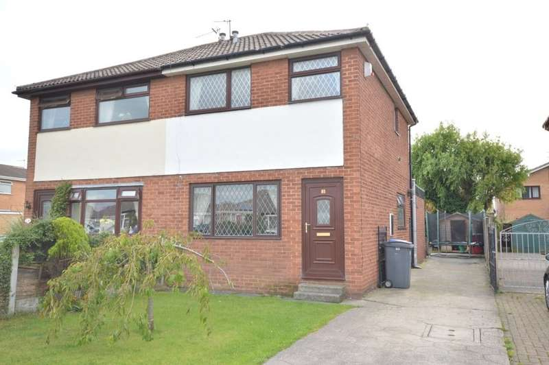 3 Bedrooms Semi Detached House for sale in Gordale Close, Marton