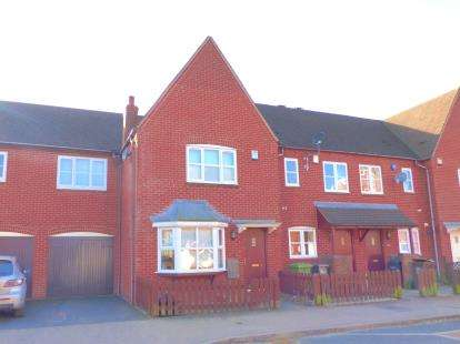 3 Bedrooms Terraced House for sale in Calcutt Way, Shirley, Solihull, West Midlands